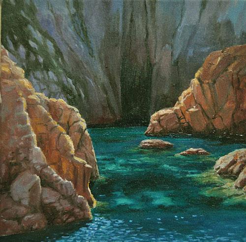 Marina - La cueva - ©Lucía Gómez Serra