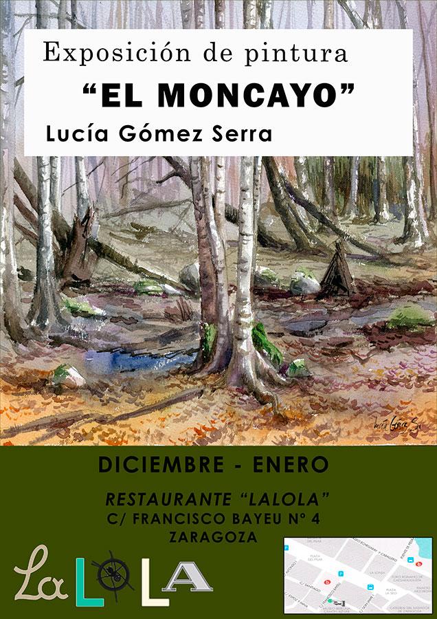 """Exposición """"El Moncayo"""" de Lucía Gómez Serra 2014"""