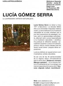 """Exposición """"Copsant la natura"""" Lucía Gómez Serra"""