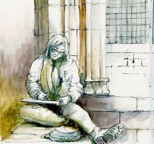 Sketcher -Urban sketching @ Lucía Gómez Serra